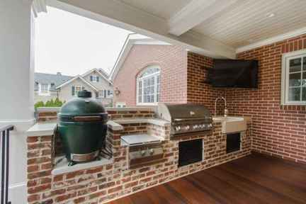 30 best outdoor kitchen and grill for summer backyard ideas