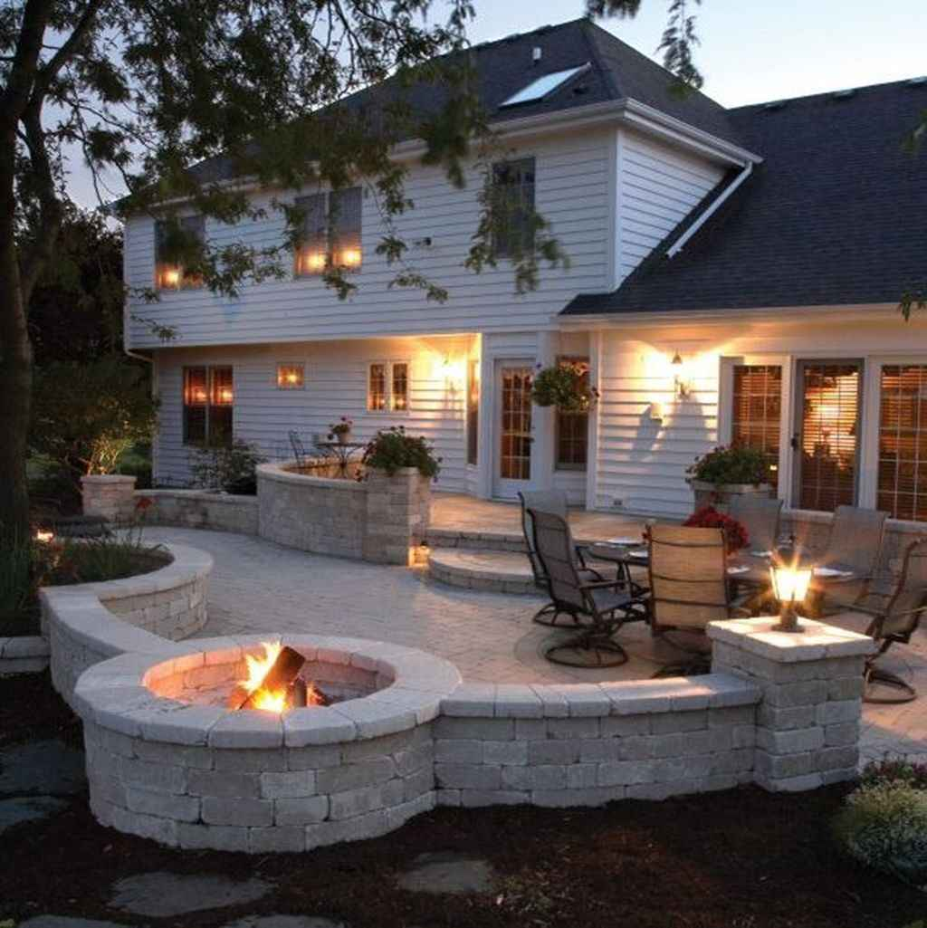 33 awesome outdoor fire pit seating design ideas for backyard