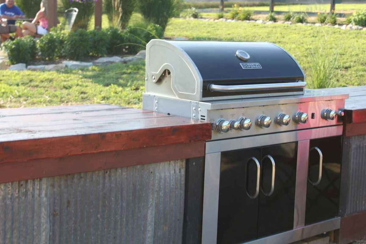 36 best outdoor kitchen and grill for summer backyard ideas