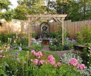 37 beautiful front yard cottage garden landscaping ideas