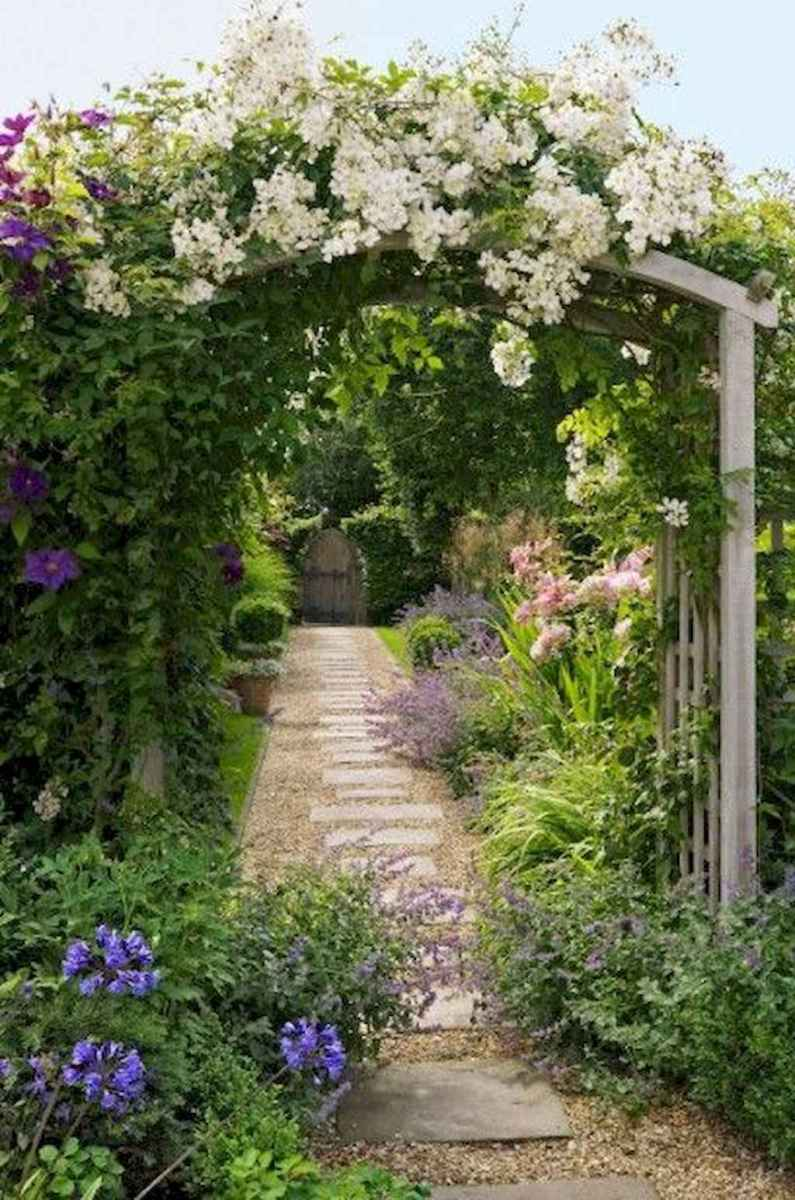 41 beautiful front yard cottage garden landscaping ideas