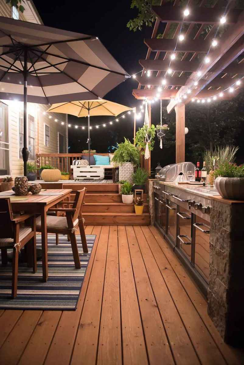 43 best outdoor kitchen and grill for summer backyard ideas