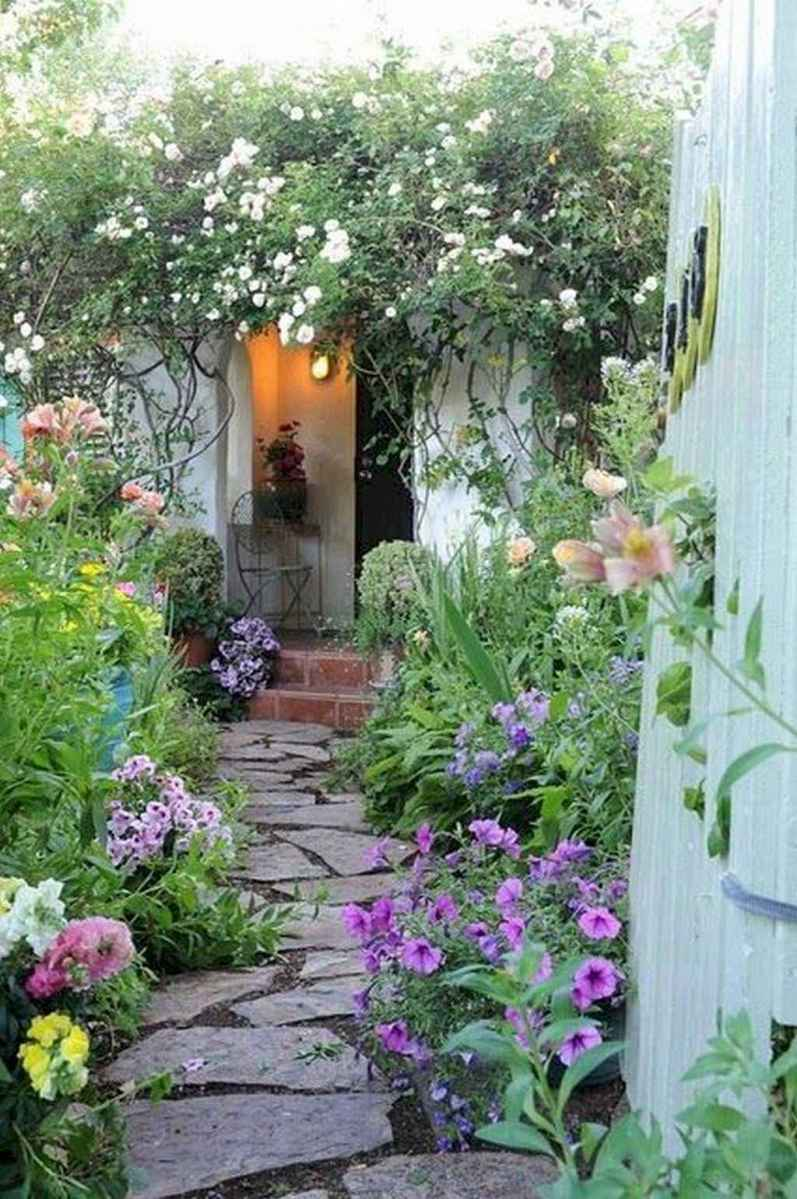 44 stunning small cottage garden ideas for backyard landscaping
