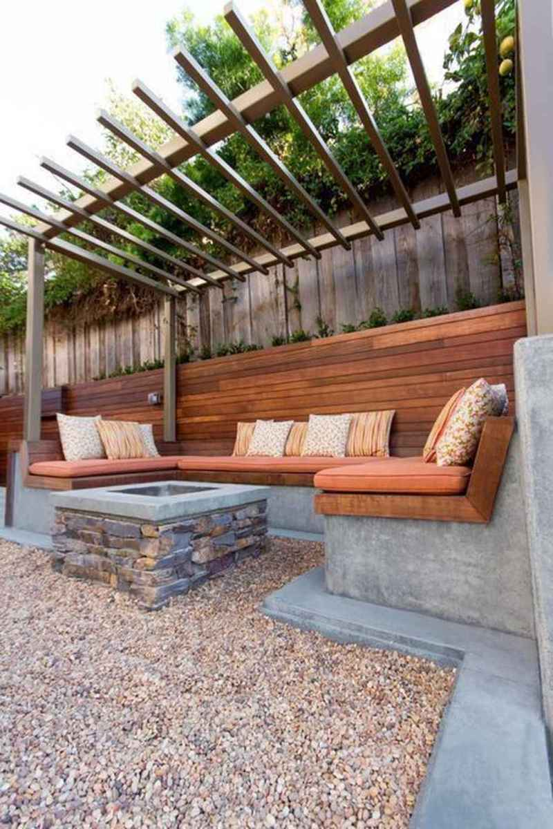 46 awesome outdoor fire pit seating design ideas for backyard