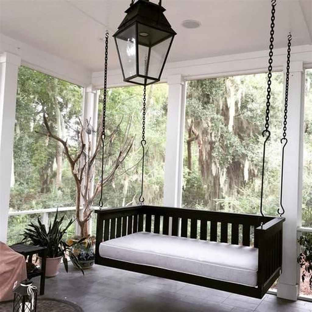 46 hang relaxing front porch swing decor ideas