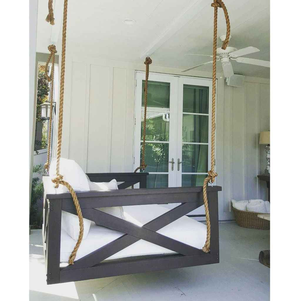 47 hang relaxing front porch swing decor ideas