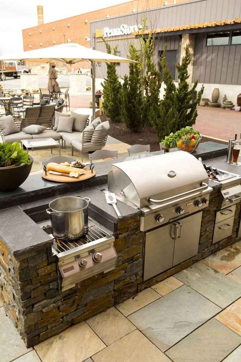 50 best outdoor kitchen and grill for summer backyard ideas