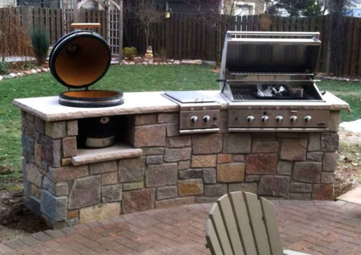 52 best outdoor kitchen and grill for summer backyard ideas