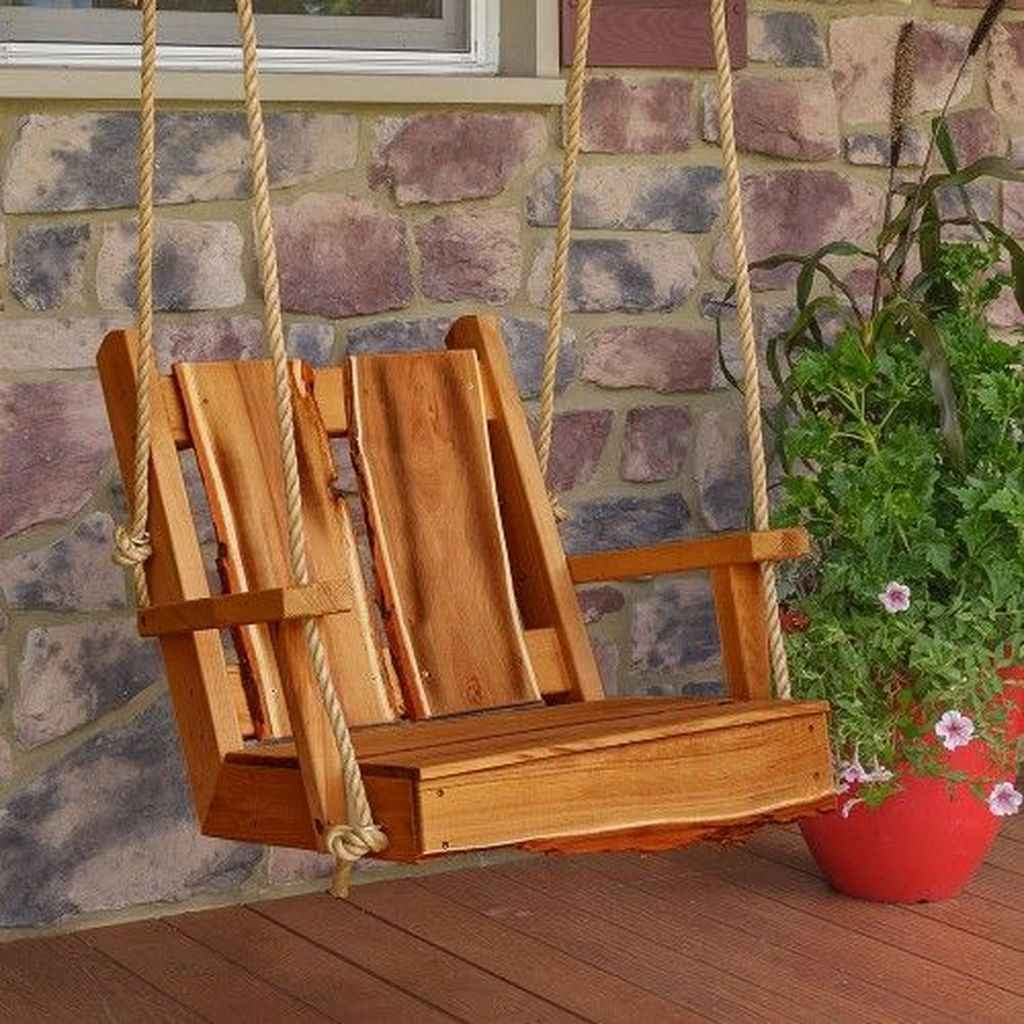 53 hang relaxing front porch swing decor ideas