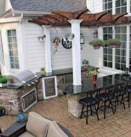 54 best outdoor kitchen and grill for summer backyard ideas