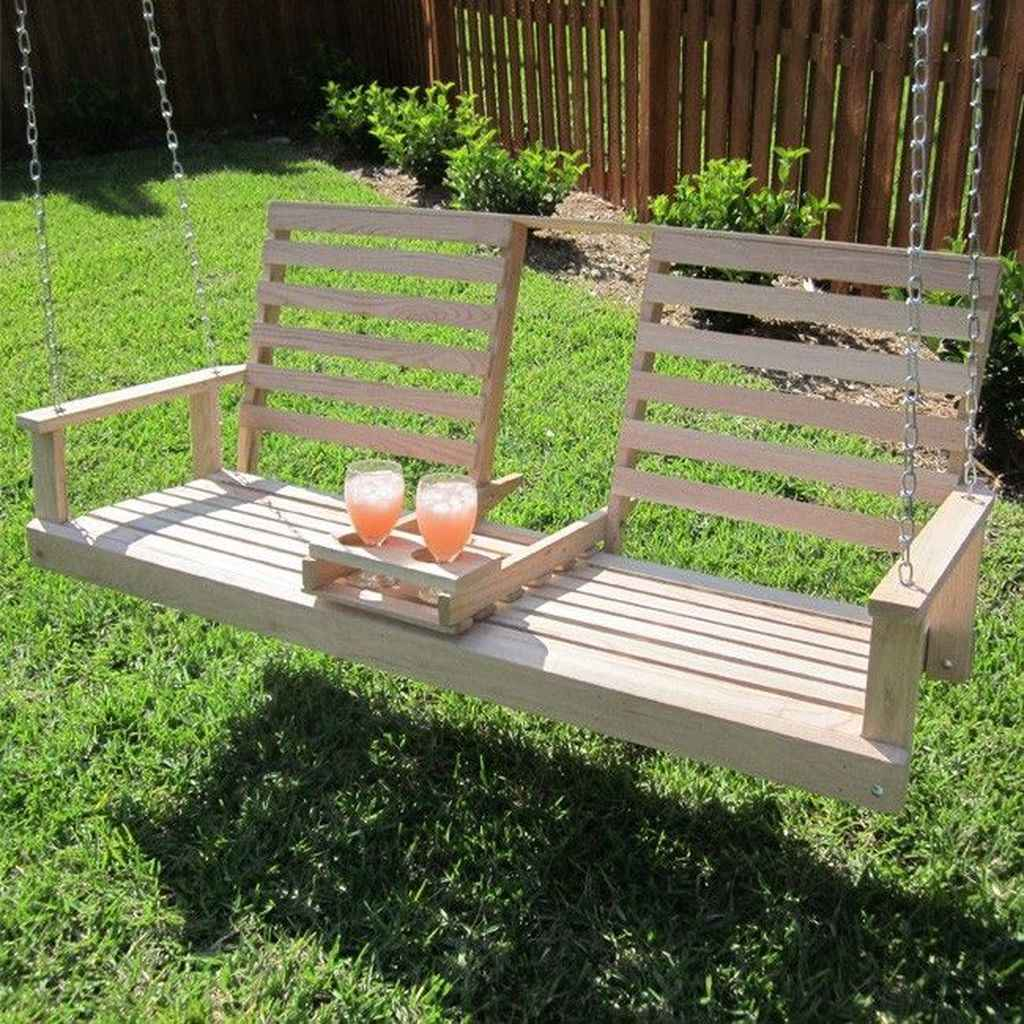 56 amazing backyard ideas with garden swing seats for summer
