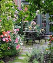 56 fantastic cottage garden ideas to create cozy private spot