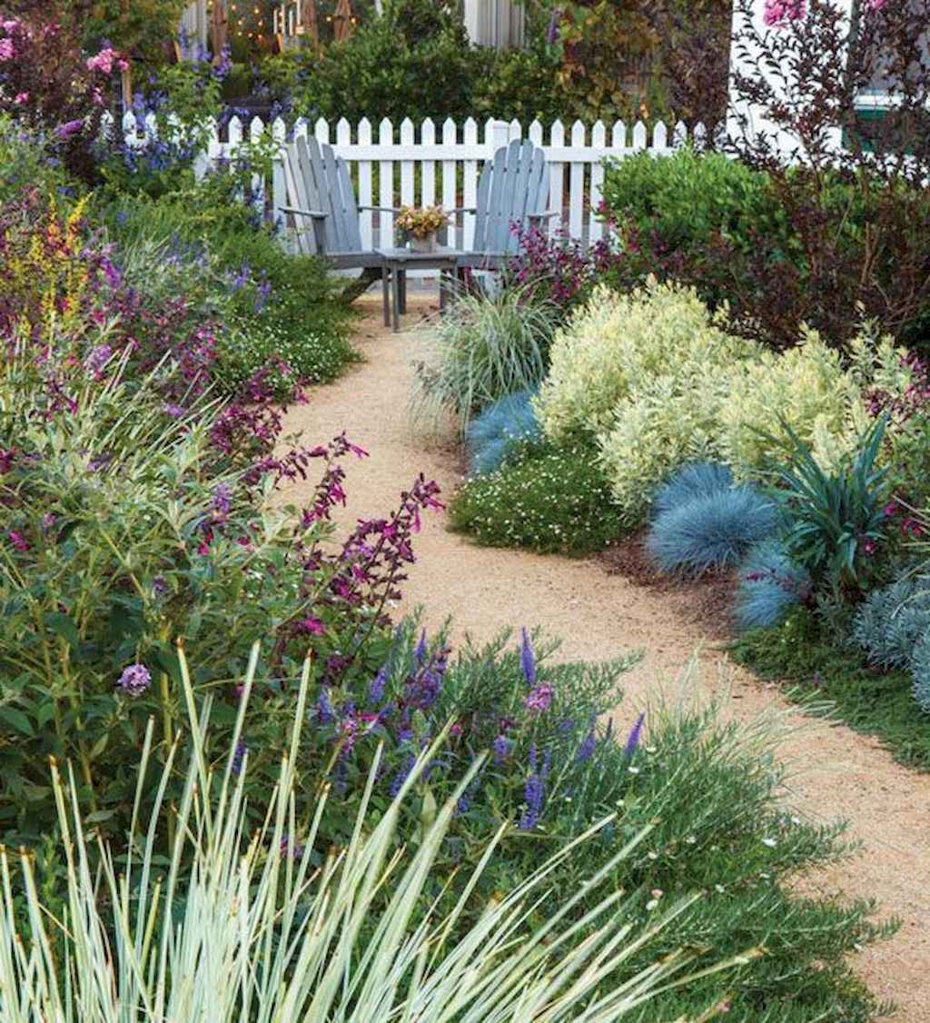 57 beautiful front yard cottage garden landscaping ideas