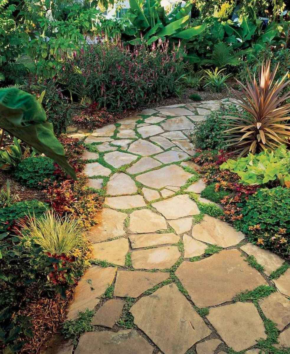 57 beautiful side yard garden path design ideas