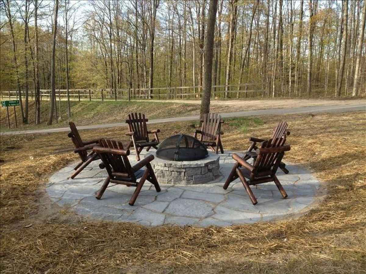 60 awesome outdoor fire pit seating design ideas for backyard