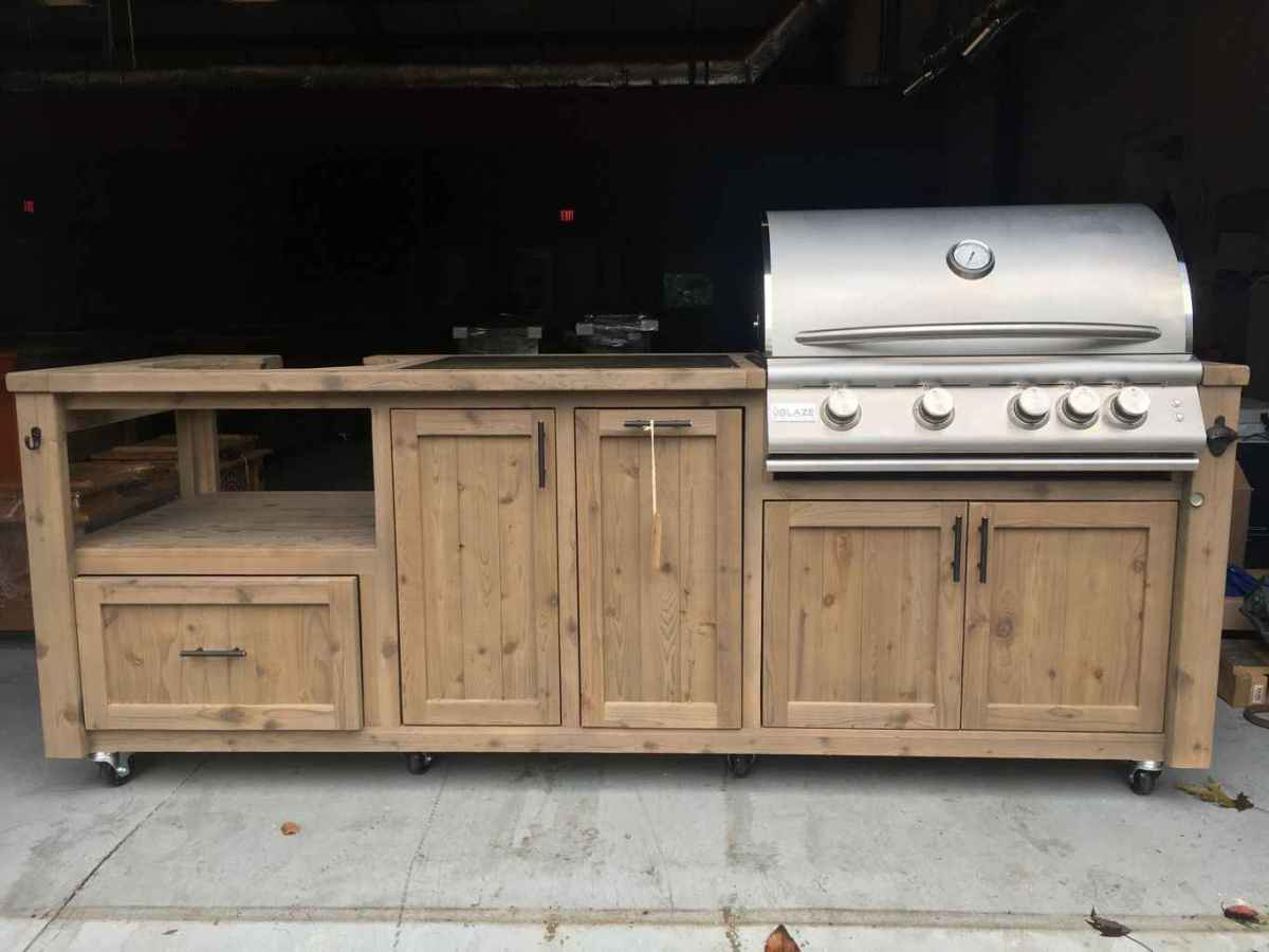 60 best outdoor kitchen and grill for summer backyard ideas