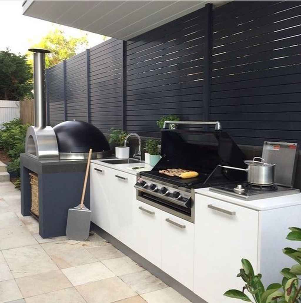 62 best outdoor kitchen and grill for summer backyard ideas