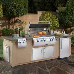 63 best outdoor kitchen and grill for summer backyard ideas
