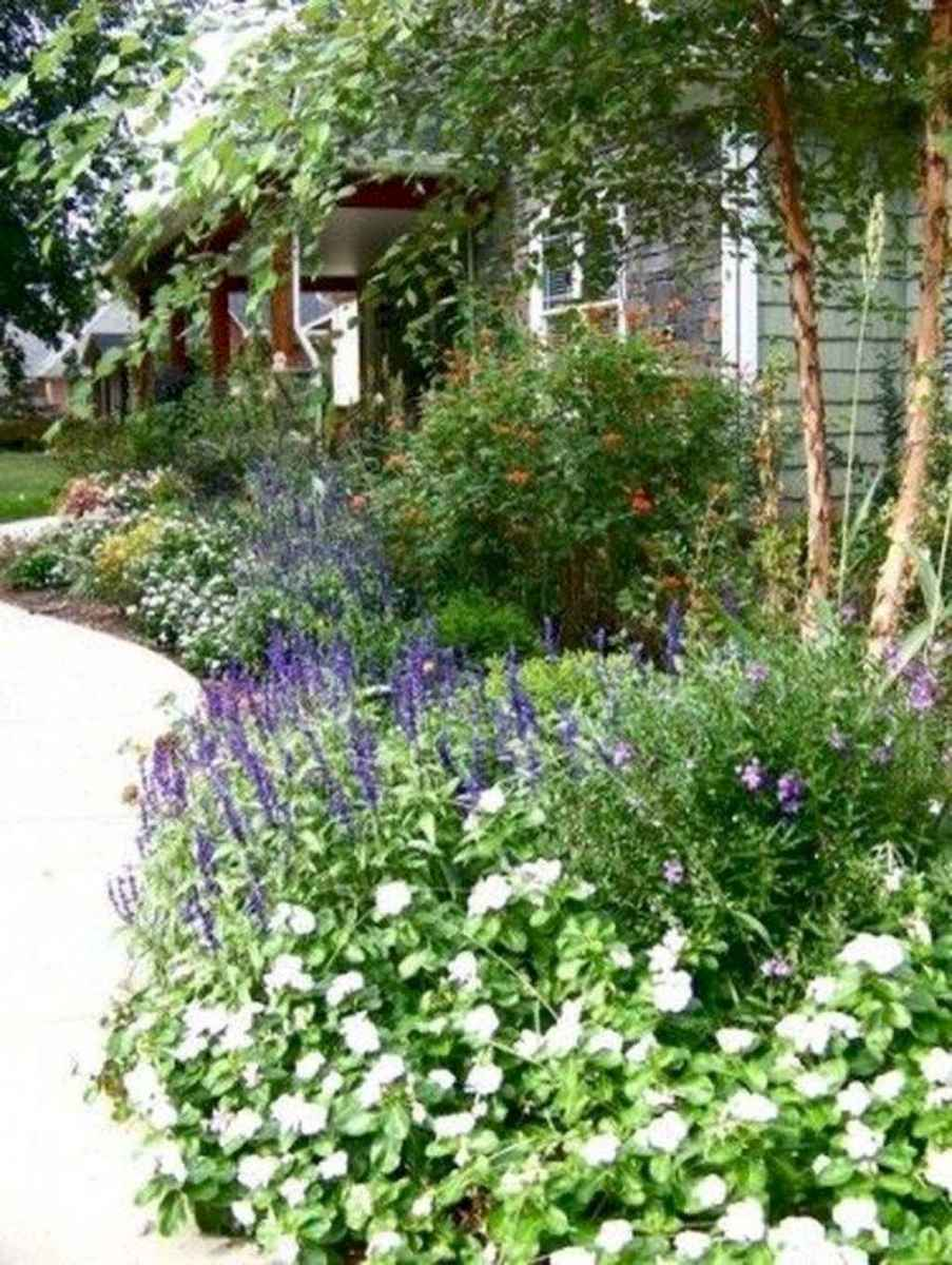 64 beautiful front yard cottage garden landscaping ideas