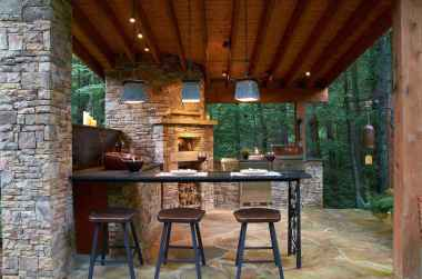 64 best outdoor kitchen and grill for summer backyard ideas
