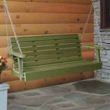 69 hang relaxing front porch swing decor ideas