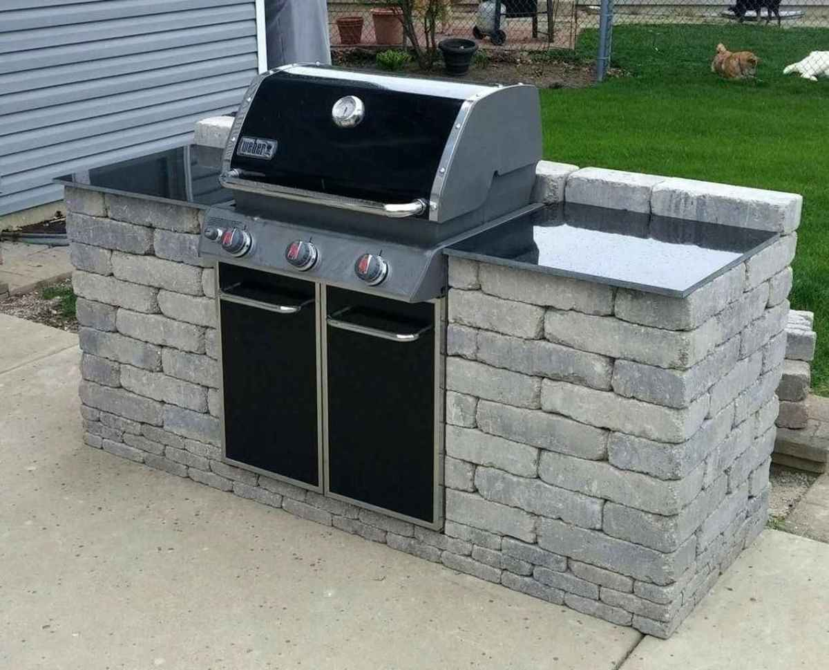 71 best outdoor kitchen and grill for summer backyard ideas
