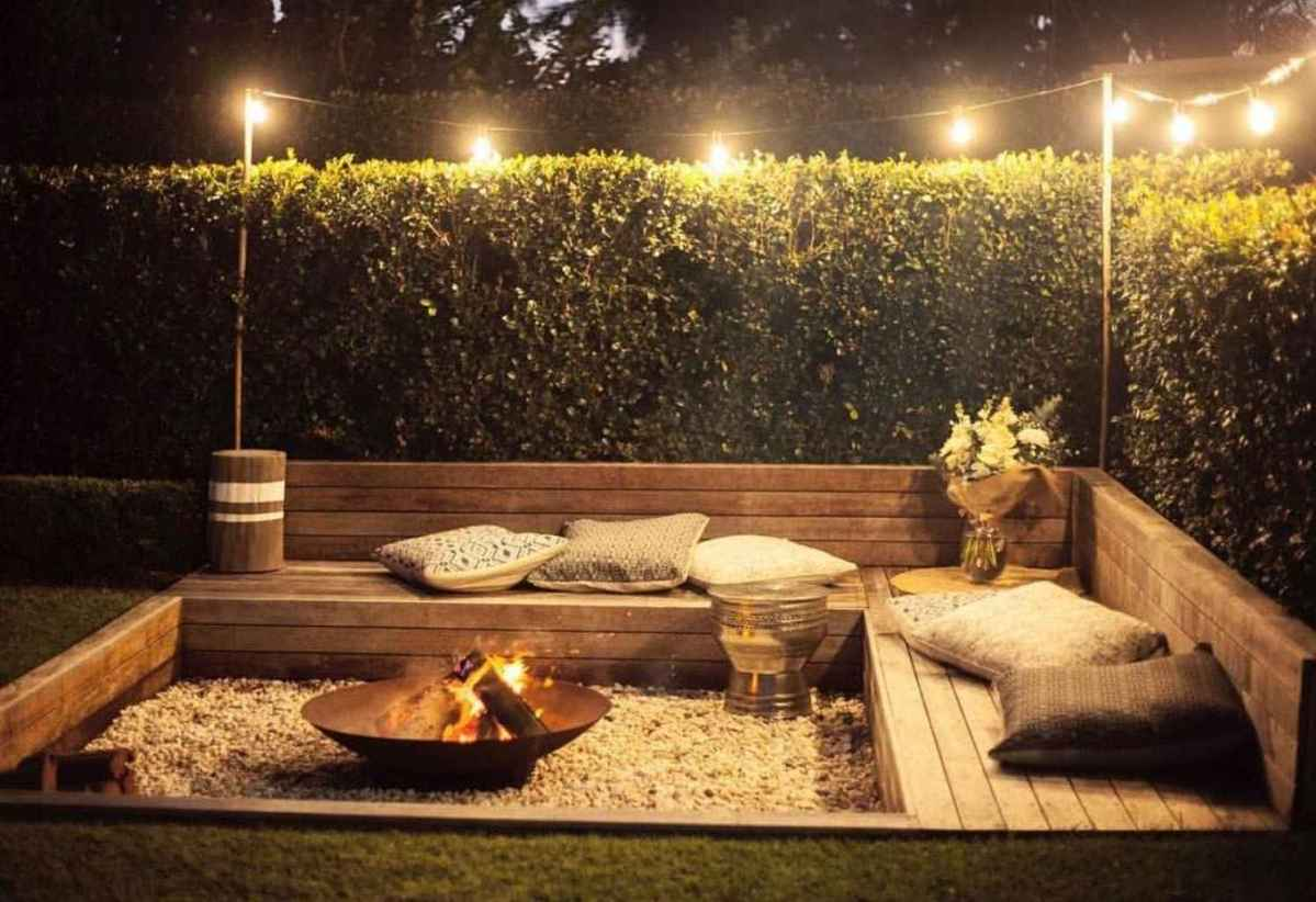 76 awesome outdoor fire pit seating design ideas for backyard