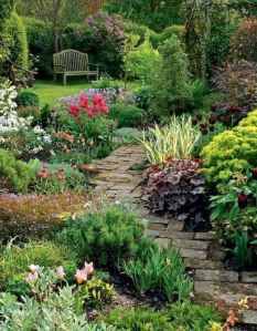 78 beautiful front yard cottage garden landscaping ideas