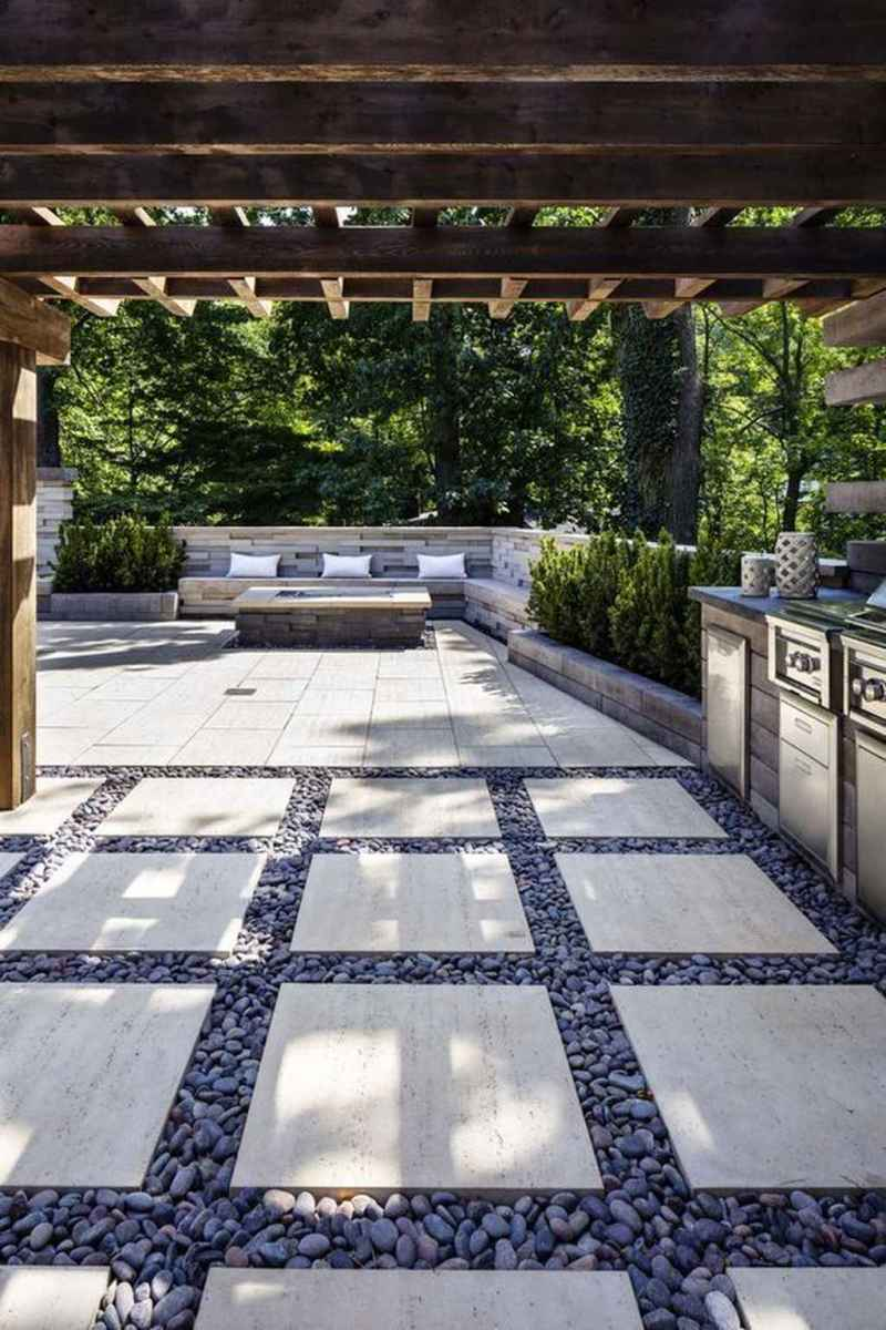81 awesome outdoor fire pit seating design ideas for backyard