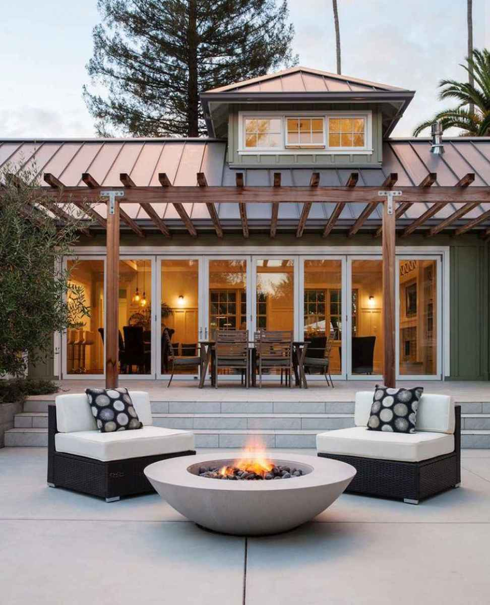 89 awesome outdoor fire pit seating design ideas for backyard