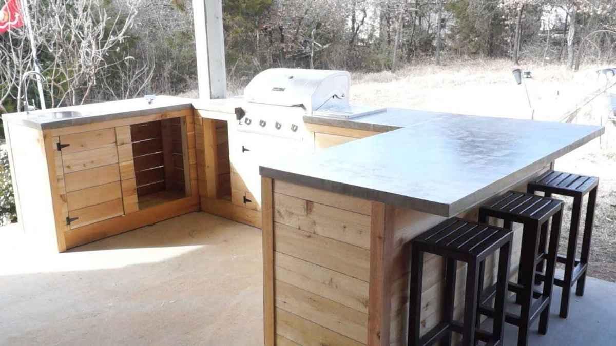 91 best outdoor kitchen and grill for summer backyard ideas