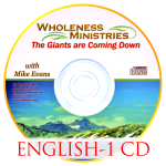 The Giants are Coming Down – English – CD
