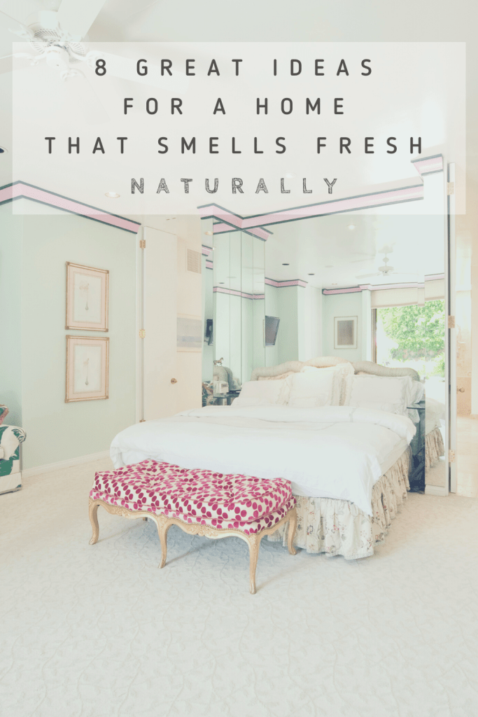 how to make your home smell good naturally