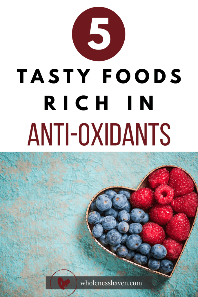 5 foods high in antioxidants