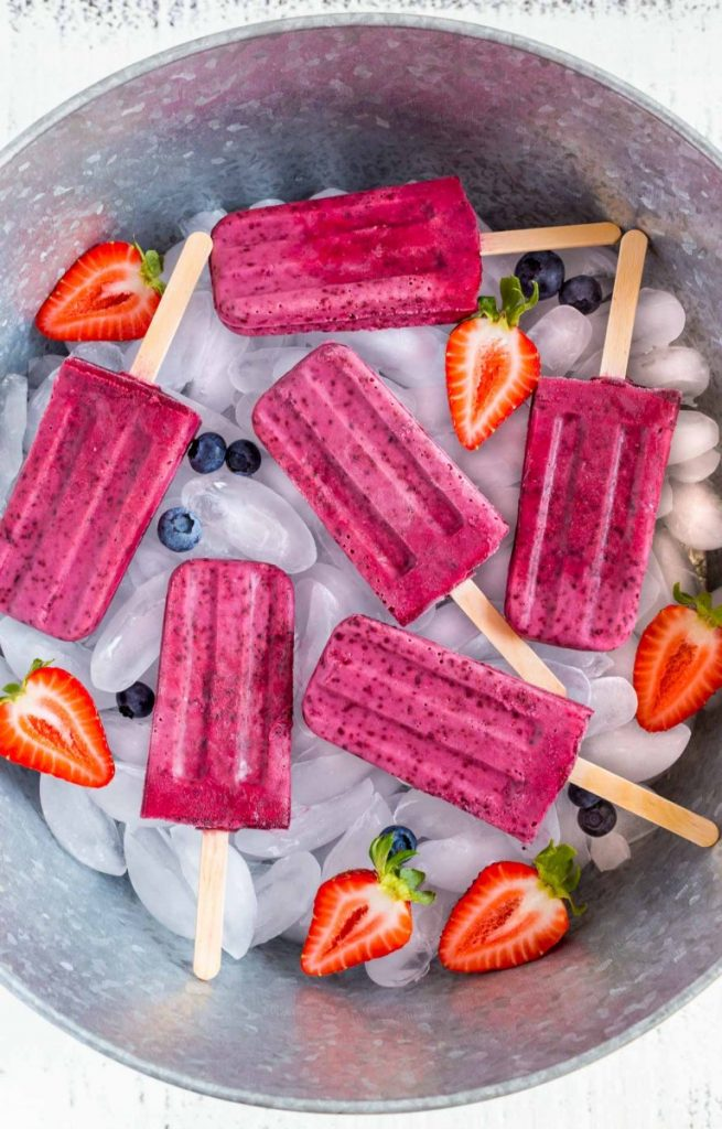 healthy homemade popsicle recipes