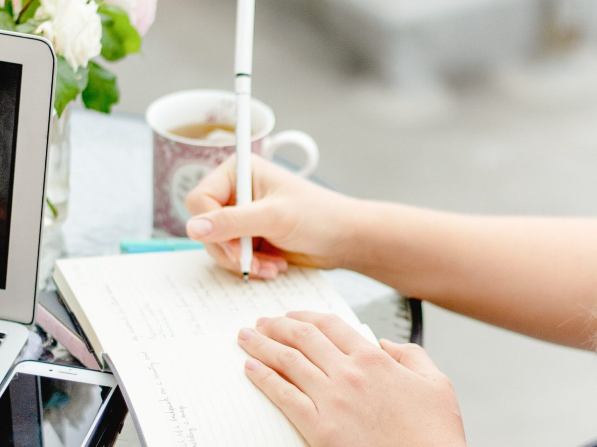 gratitude journal with prompts + why they're important