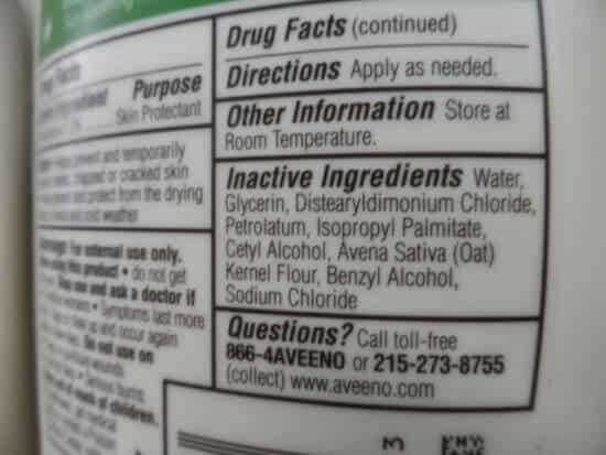 quimicos de los cosmeticos