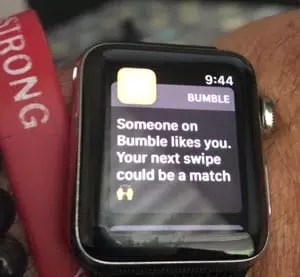 bumble on iphone
