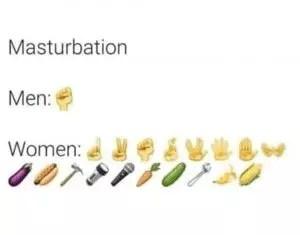 masturbation men vs women