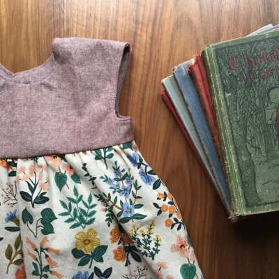 sewing, thanksgiving, and three months of school
