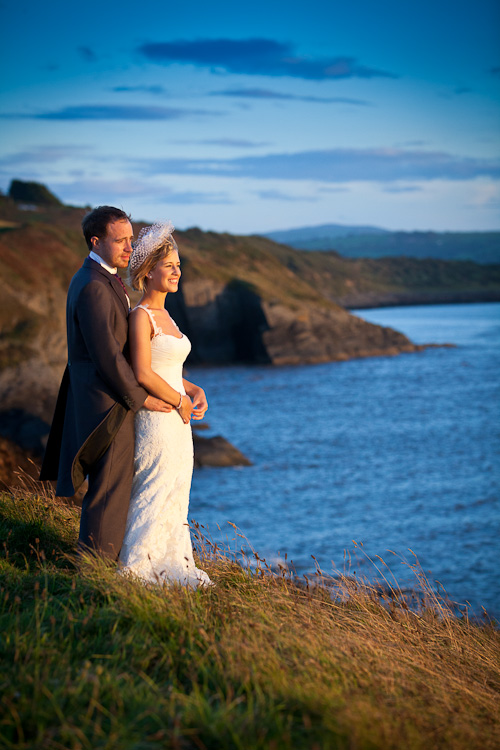 Wedding Photography at the Cliff Hotel with Mari and Gareth