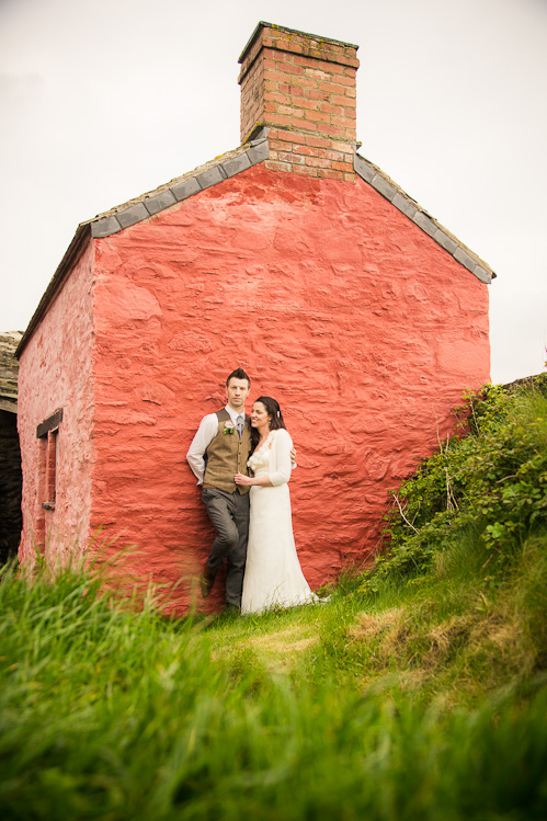Wedding photography at Pentre Ifan with Hannah and Mark
