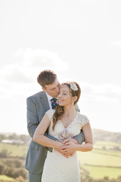 Wedding day with Ellie and Clint at Carreg Cennen Castle