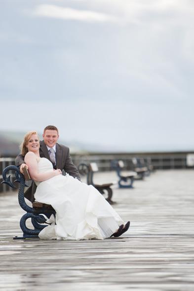 trash the dress aberystwyth pier
