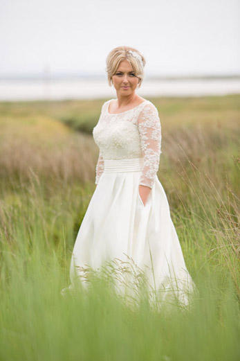 Summer wedding at The Corran by Whole Picture Weddings