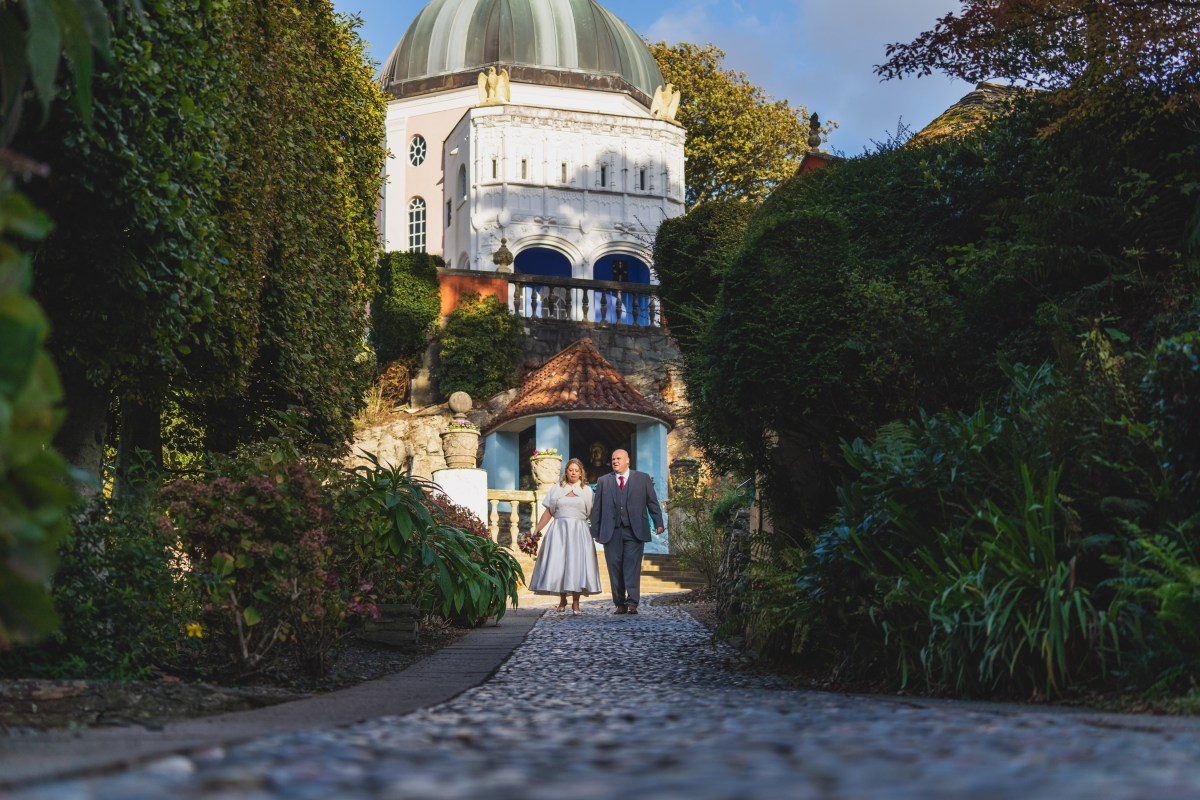 Portmeirion Wedding Photographer