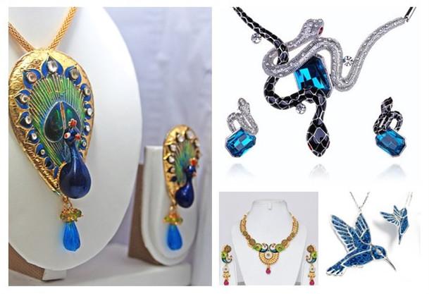 enamel jewelry sets