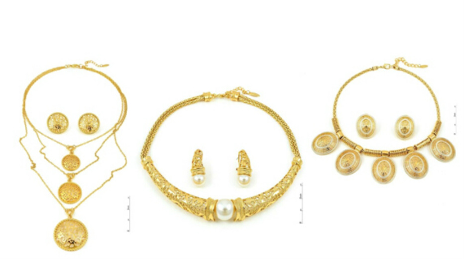Gold Plated Jewelry Sets Wholesale