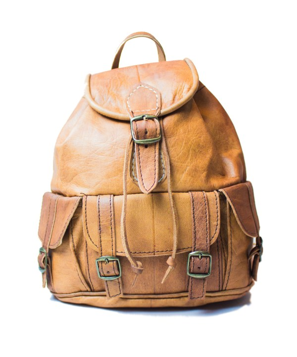 leather backpack Bag LP25LB-bp2-0