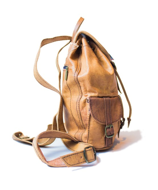 leather backpack Bag LP25LB-bp2-2589